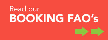 Read our booking faqs